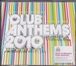 V/A feat. Japanese Popstars - Club Anthems 2010 (3xCD, UK) - Cover