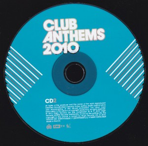 V/A feat. Japanese Popstars - Club Anthems 2010 (3xCD, UK) - Disc