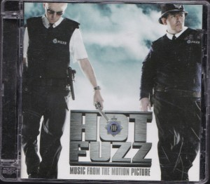 V/A feat. Jon Spencer and The Elegant Too - Hot Fuzz: Music From The Motion Picture (CD, UK) - Cover