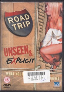 V/A feat. Jon Spencer Blues Explosion - Road Trip: Unseen & Explicit (DVD, UK)  - Cover