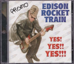 Edison Rocket Train - Yes! Yes!! Yes!!! (CD, US) - Cover