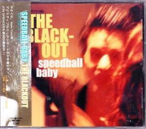 Speedball Baby - The Blackout (CD, JAPAN) - Cover