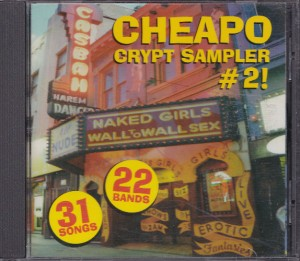 V/A feat. Cheater Slicks - Cheapo Crypt Sampler #2 (CD, US)  - Cover