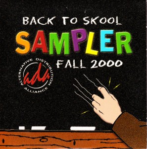 V/A feat. Russell Simins - Back To Skool Sampler Fall 2000 [Promo] (CD, US) - Cover