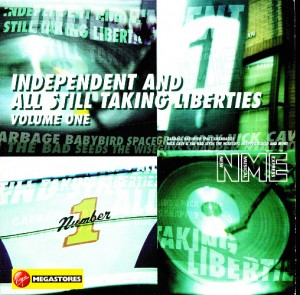 V/A feat. Jon Spencer Blues Explosion - Independent and Still Taking Liberties Volume One (CD, UK) - Cover