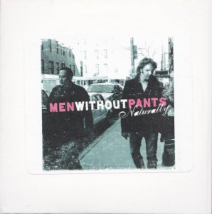 Men Without Pants - Naturally [Promo] (CD, US) - Cover