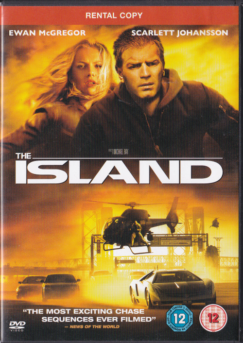 V/A feat. Heavy Trash - The Island [Rental] (DVD, UK) - Cover