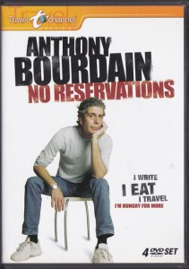 Blues Explosion! - Anthony Bourdain: No Reservations (4xDVD, US) - Cover