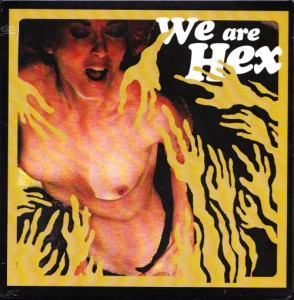 "We Are Hex - Lewd Nudie Animals [Green] (7"", US) - Cover"