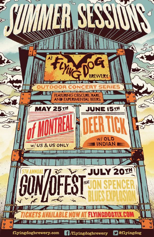 Jon Spencer Blues Explosion - Gonzofest, Flying Dog Brewery, Frederick, United States (20 July 2013)