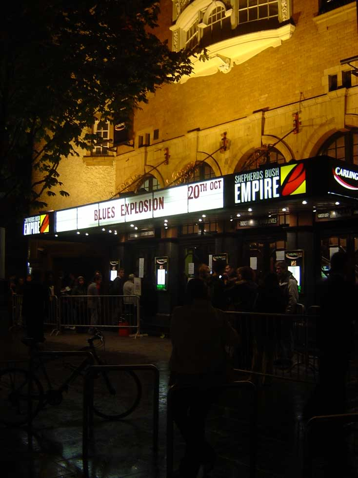 Blues Explosion - Shepherds Bush Empire, London, UK (20 October 2004)