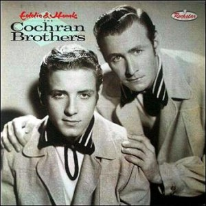 Eddie & Hank - The Cochran Brothers (LP, UK) - Cover