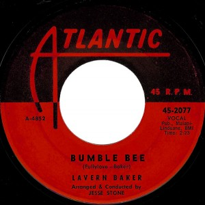 "Lavern Baker - Bumble Bee (7"", US) - Label - Side A"