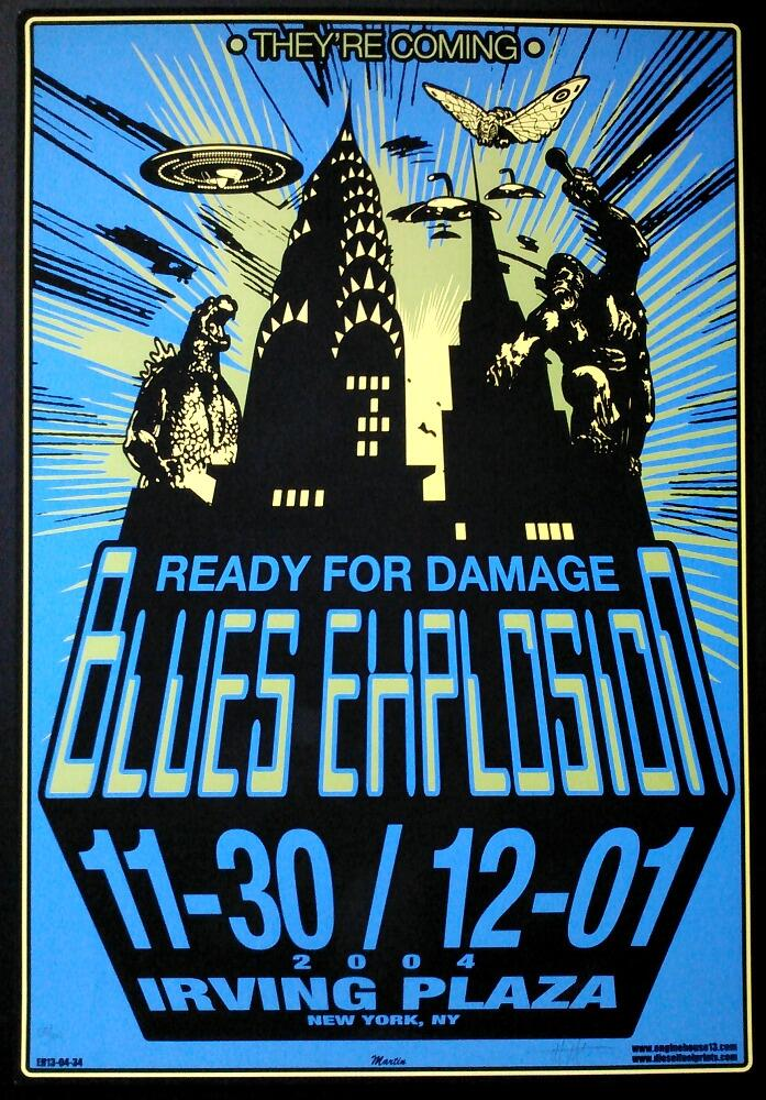Blues Explosion - Irving Plaza, New York City, NY, US (30 November 2004 / 1 December 2004)