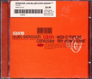 Jon Spencer Blues Explosion - Calvin (CD, AUSTRALIA) - Cover
