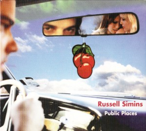 Russell Simins - Public Places (CD, UK) - Cover