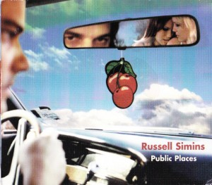 Russell Simins - Public Places (CD, US) - Cover