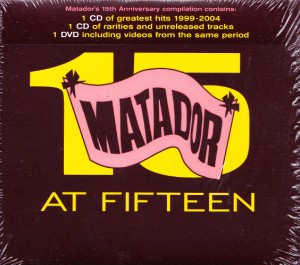 V/A feat. Jon Spencer Blues Explosion - Matador At Fifteen (2xCD/DVD, US)  - Cover