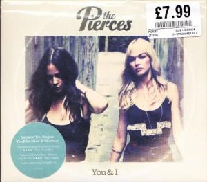 The Pierces - You & I [Digipak] (CD, UK) - Cover