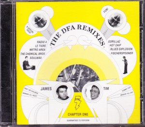 V/A feat. Blues Explosion - DFA Remixes Chapter One (CD, UK) - Cover