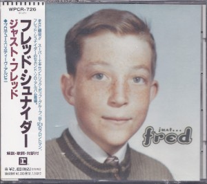 Fred Schneider - Just Fred (CD, JAPAN) - Cover