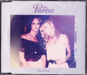The Pierces - Glorious [Promo] (CD, UK) - Cover