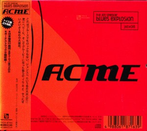 Jon Spencer Blues Explosion - Acme (CD, JAPAN) - Cover