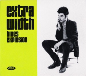 The Jon Spencer Blues Explosion - Extra Width (CD, AUSTRALIA) - Cover
