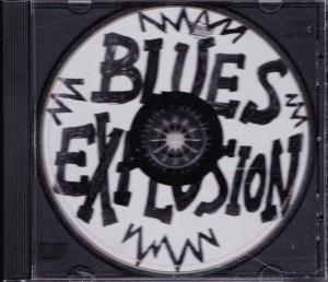 Blues Explosion - Burn It Off [Promo] (CD, US)  - Front