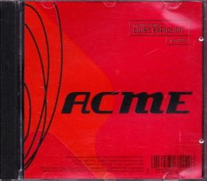 The Jon Spencer Blues Explosion – Acme (CD, KOREA) - Cover