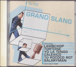 V/A feat. Schneider TM - Grand Slang (CD, UK) - Cover
