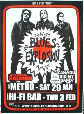 Blues Explosion - Metro / Hi-Fi Bar, Australia (29 January 2005 / 3 Feburary 2005)