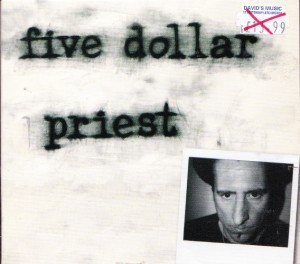 Five Dollar Priest (CD, SPAIN) - Cover