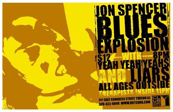 Jon Spencer Blues Explosion - Tuscon, Arizona, US (2002)