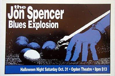 The Jon Spencer Blues Explosion - Ogden Theatre, Denver, CO, US (31 October 2001)