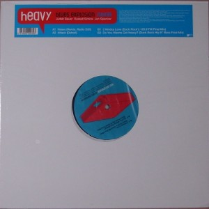 "The Jon Spencer Blues Explosion - Heavy (12"", UK) - Front"