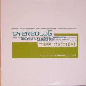 """Stereolab - Miss Modular [Promo] (12"""", US) -Front"""