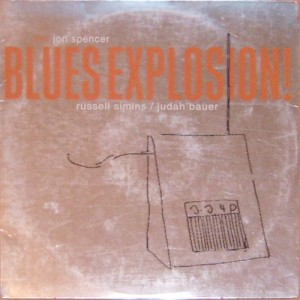 The Jon Spencer Blues Explosion - Orange [Silver] (LP, US) - Cover