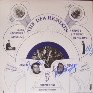 V/A feat. Blues Explosion - DFA Remixes Chapter One (2xLP, US) - Cover