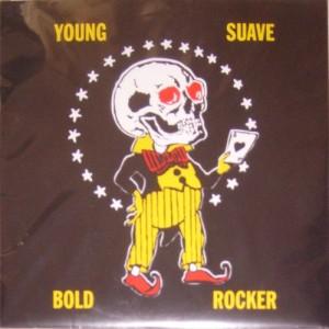 Jon Spencer with Yo La Tengo / The Llaf - Matador at 21: Young Suave Bold Rocker (10″, US) - Cover
