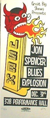 The Jon Spencer Blues Explosion - 328 Performance Hall, Nashville, TN., US  (31 December 2000)