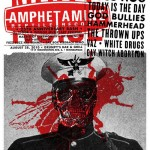 Amphetamine Reptile 25th Birthday Bash [Aesthetic Apparatus] (POSTER, US) 2010.08.28