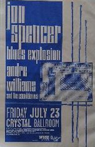 Jon Spencer Blues Explosion - Crystal Ballroom, Portland, OR, US (23 July 1999)