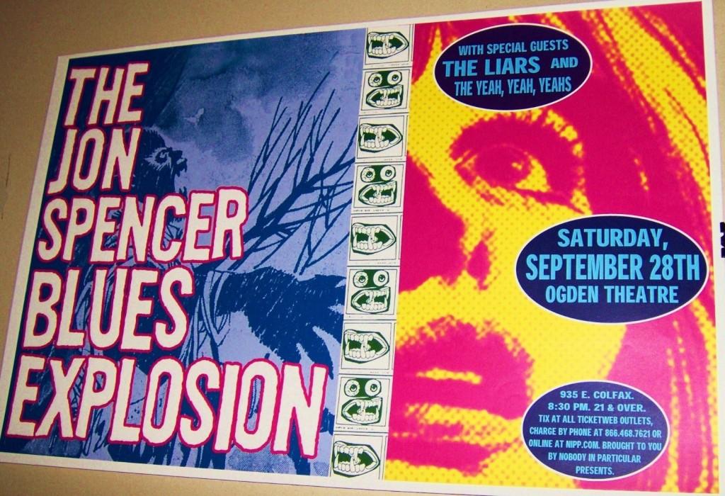 The Jon Spencer Blues Explosion - Ogden Theatre, Denver, US (28 September 2002)