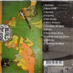 Blues Explosion - Damage (CD, AUSTRALIA) - Rear
