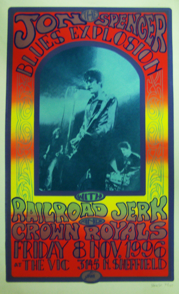 The Jon Spencer Blues Explosion - The Vic Theatre, Chicago, IL, US (8 November 1996)