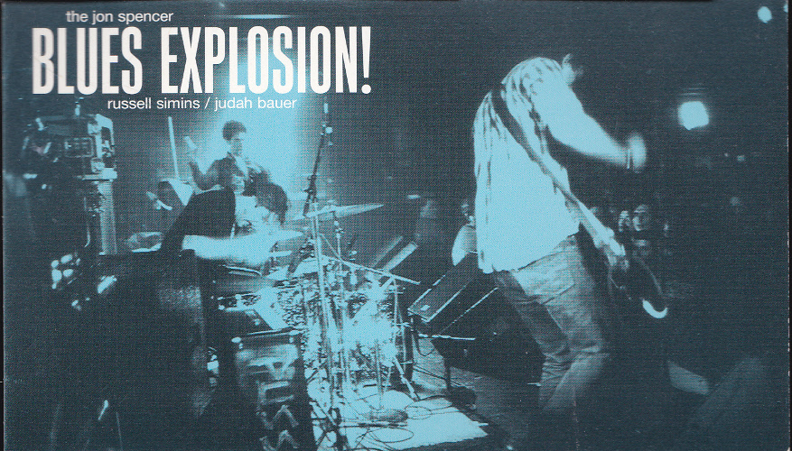 Jon Spencer Blues Explosion - Reissues (POSTCARD, UK) - Front