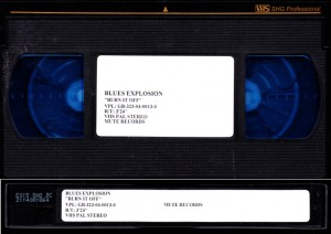 Blues Explosion - Burn It Off [Promo] (VHS, UK)