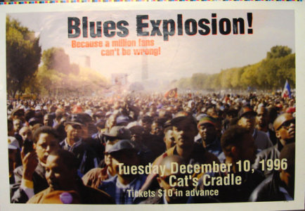 The Jon Spencer Blues Explosion - Cat's Cradle, Carrboro, NC, US (10 December 1996)
