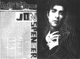 Jon Spencer Blues Explosion - Rolling Stone: Jon Spencer [800 Word Interview] (PRESS, US)
